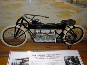 Bad-ass Glenn Curtiss Motorcycle