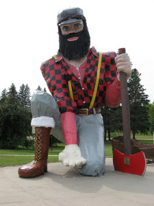 Paul Bunyan Roadside Attractions