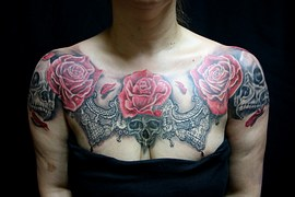 Amazing Skull Tattoos